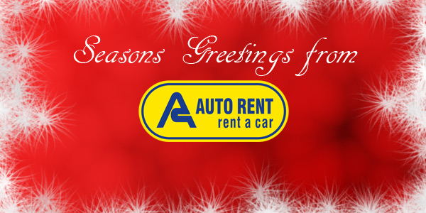 Seasons Greetings from Auto Rent
